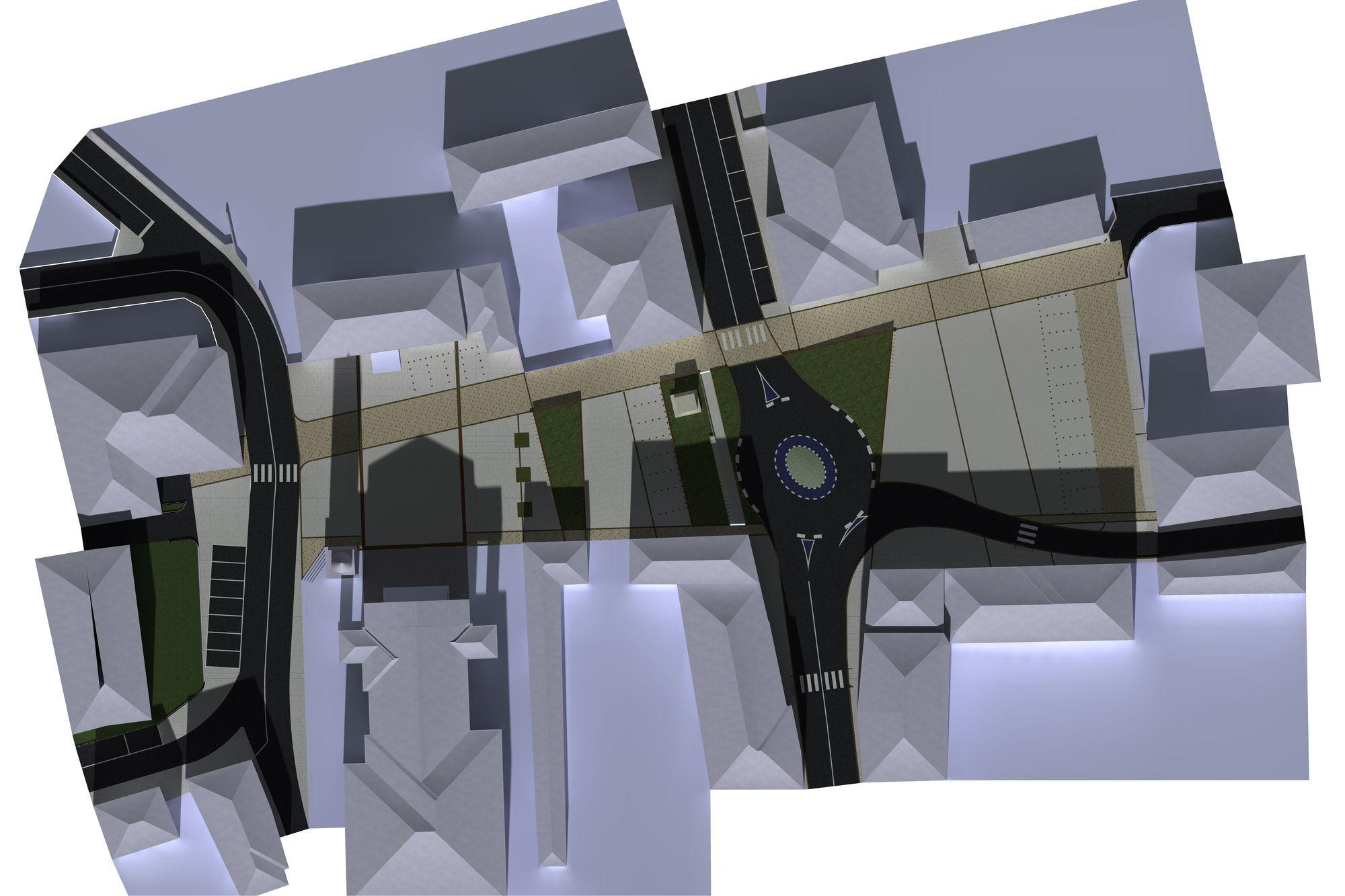 Vista parallela nicoladesign urbanistica