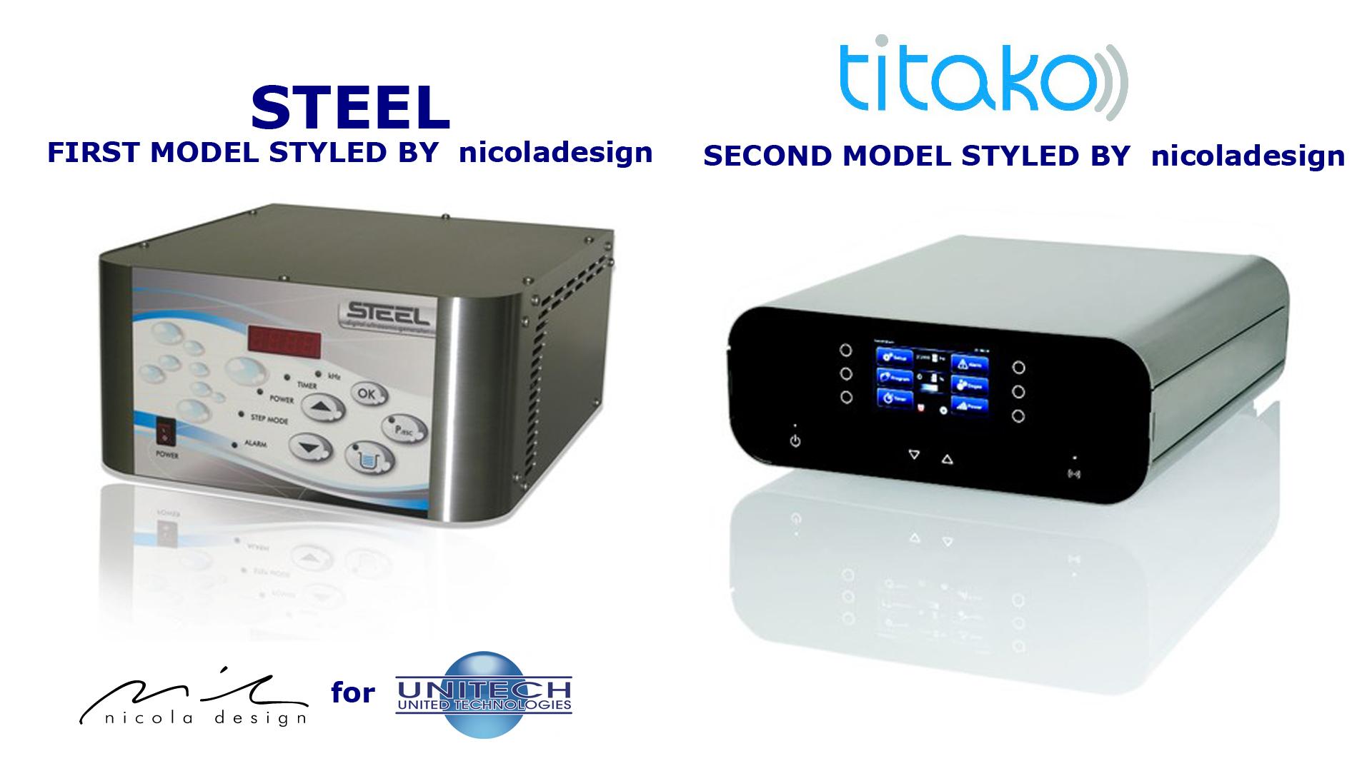 Industrial design example of a product evolution nicola for Progettazione casa generatore